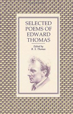 Selected Poems of Edward Thomas,Edward Thomas Dec'd
