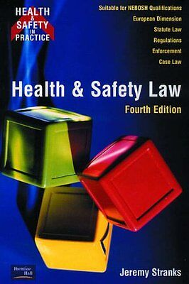 Health and Safety Law (Health & Safety in Practice),Mr Jeremy  ,.9780273654520