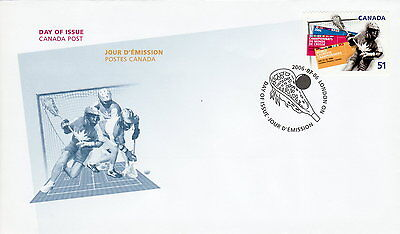 Canada #2161 51¢ World Lacrosse Championship First Day Cover