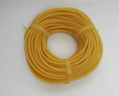 "10 Feet - 3/16"" - Latex Rubber Tubing - Surgical Grade - New"