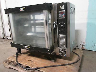 """BKI - DR34"" HD COMMERCIAL COUNTER TOP 3Ph ELECTRIC RIB/CHICKEN ROTISSERIE OVEN"