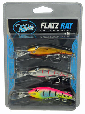 Killalure Flatz Rat Lures - Value Pack of 3