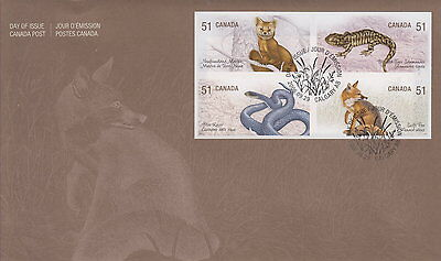 Canada #2174-2177 51¢ Endangered Species First Day Cover