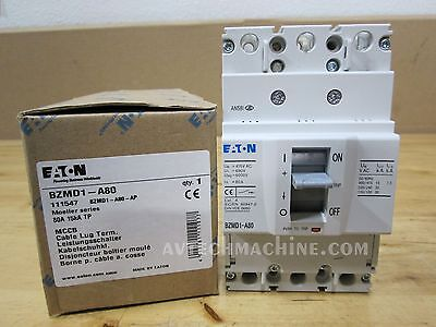 Eaton Breaker Thermal-Magnetic 80A BZMD1-A80