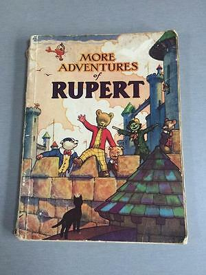 Original Rare Rupert Annual 1942 - first War Economy edition with paper covers