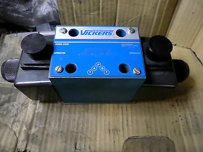VICKERS - DG4V-5-2C-M-U-A6-20 Double Solenoid Valve, Spring Centered 110AC Coil