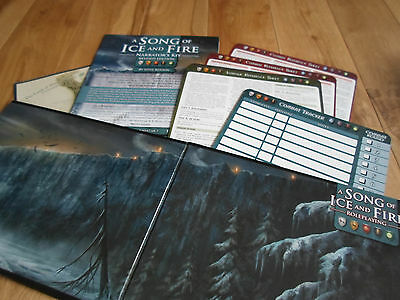 A Song of Ice and Fire RPG: Narrator's Kit Revised Edition (MINT/NEW)