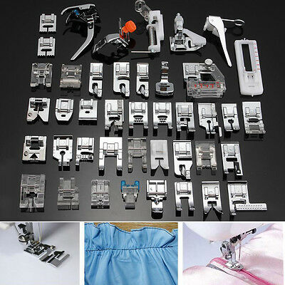 42X Universal Foot Bias Binding Presser For Brother Janome Singer Sewing Machine