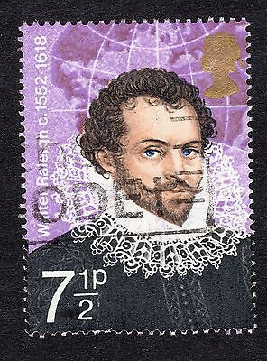 1973 7.5p Walter Raleigh SG 926 FINE USED R18765