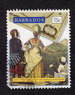 1993 Barbados 75c 60th Anniv Barbados Museum SG1005 GOOD USED R32865