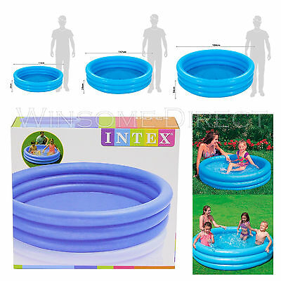 Inflatable Kids Swimming Paddling Pools Family Play Children Garden Water Fun