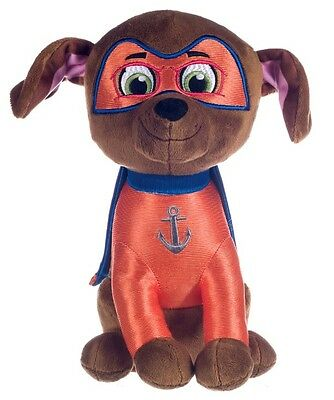 "New Official 12"" Paw Patrol Superhero Zuma Pup Plush Soft Toy Nickelodeon Dogs"