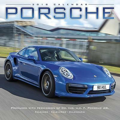Porsche 2018 Calendar 15% OFF MULTI ORDERS!