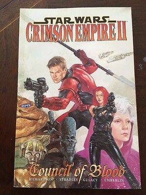 Star Wars Crimson Empire II Council of Blood Graphic Novel