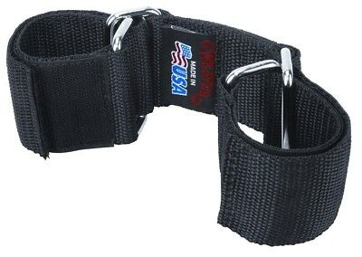 """Weaver Goat Hobbles 2"""" Wide Webbing with 3 1/2"""" Strap, Black, One Size"""
