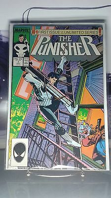"""Punisher #1 """"First Issue In An Unlimited Series!"""" (Marvel)"""