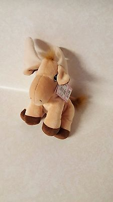 Precious Moments Tender Tails Moose Plush New With Tags