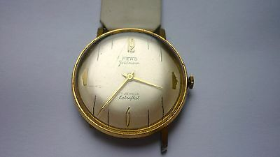 Vintage 1964 Fero Feldmann Extraflat 17 Jewels Swiss Made