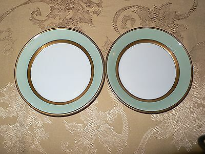 Fitz And Floyd Mint Green 2 Fruit Bowls