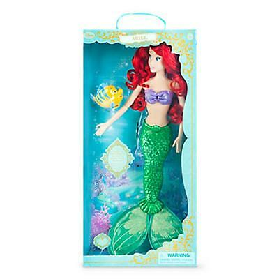 """Ariel Little Mermaid Deluxe Feature 18"""" Singing Doll -Disney Princess New in Box"""