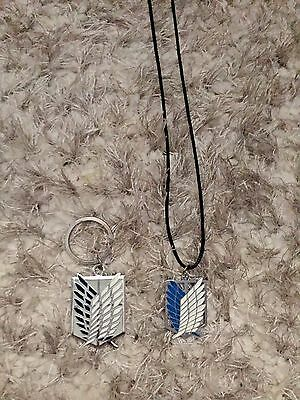 Attack on Titan Necklace and Keychain
