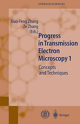 Progress in Transmission Electron Microscopy 1: Concepts and Techniques (English