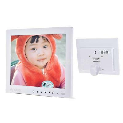 """Andoer 10"""" HD Digital Photo Frame Picture Clock MP3/4 Player+Remote Control C6N3"""