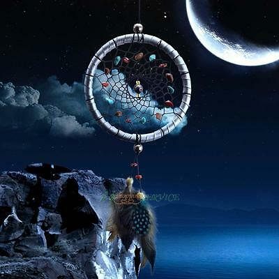 Dream Catcher with Feathers Car Wall Hanging Decoration Ornament Craft XMAS USA