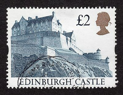 1992 £2 Edinburgh Castle SG 1613 FINE Used R19110