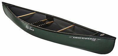 Old Town Canoes & Kayaks Discovery 119 Solo Canoe, Green