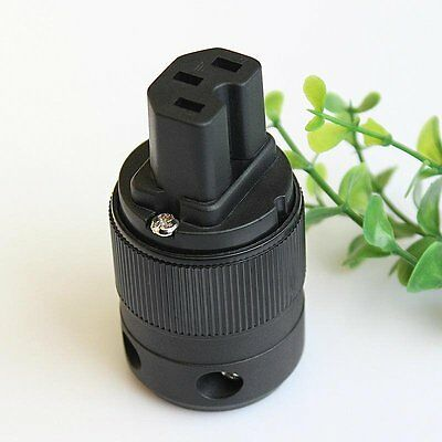 Purefonics RPIEC Rhodium Plated IEC Connector BUY 2 GET 1 FREE!!