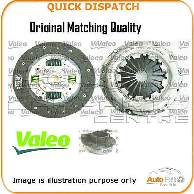 Valeo Genuine Oe 3 Piece Clutch Kit  For Honda Jazz  826758