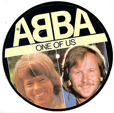 "Abba - One Of Us / Should I Laugh Or Cry - Rare 7"" 45 Record Picture Disc 1981"