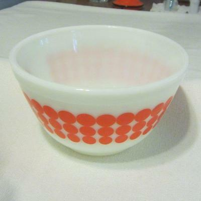 Pyrex Red Dot Bowl - 1-1/2 Pt. #401