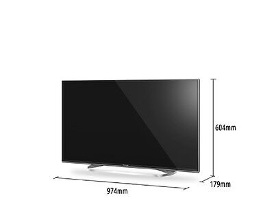 panasonic viera tx 43cxw754 109 2 cm 43 zoll 3d 2160p uhd ips led internet tv eur 649 00. Black Bedroom Furniture Sets. Home Design Ideas