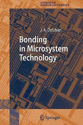 Bonding in Microsystem Technology by Jan A. Dziuban (English) Paperback Book Fre