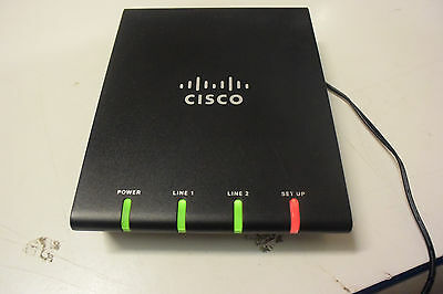CISCO ATA187-I1-A Analog Telephone Adapter, No PSU