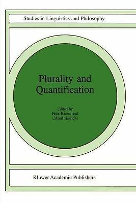 Plurality and Quantification (English) Paperback Book