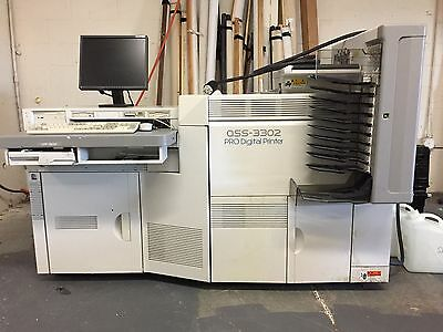 "Noritsu 3302 8"" Digital Photo Printer ONLY 1.6 million prints"