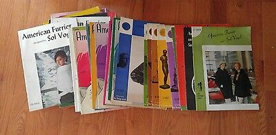Lot of 43 -American Furrier and Sol Vogel Fur catalogs 1952 to 1965