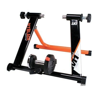 """JetBlack Mag M1 Cycle Turbo Trainer 26"""" & 700c + Schwalbe Insider Tyre 700"""