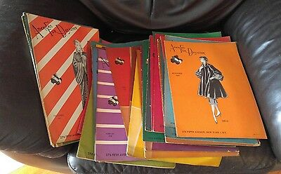Lot of 43 -American Furrier  Fur catalogs 1945 to 1951