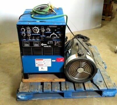 Miller Syncrowave 250 TIG Welder   11.4 KW    w/ Cool Mate 4 & Foot Control