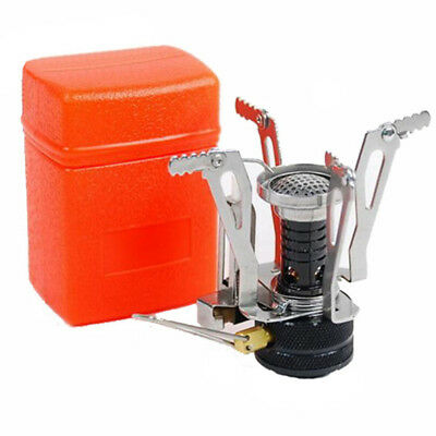 Mini Camping Hiking Portable Outdoor Picnic Steel Stove Gas Burner Camping