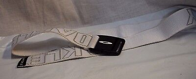 White Oakley Factory Lite Belt