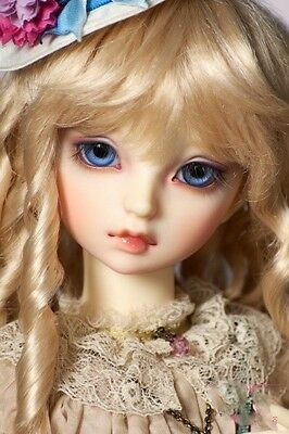 Bjd Doll Volks Lorina 1/3 Sd Size With Free Make-Up, Wig, And Eyes Recast