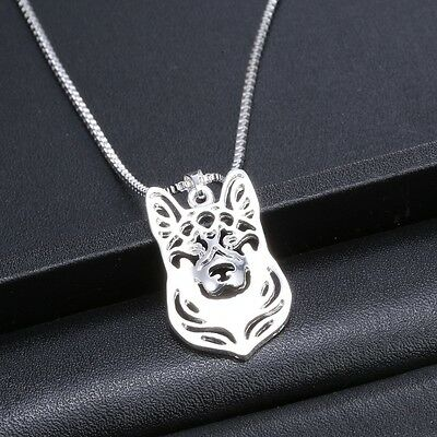 German Shepherd Dog Pendant Necklace  ANIMAL RESCUE DONATION