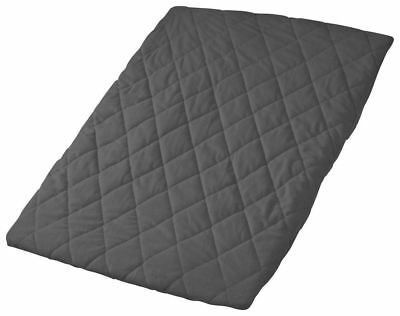 Playette Quilted Travel Cot Sheet (Charcoal) - 73 x 105cm Free Shipping!