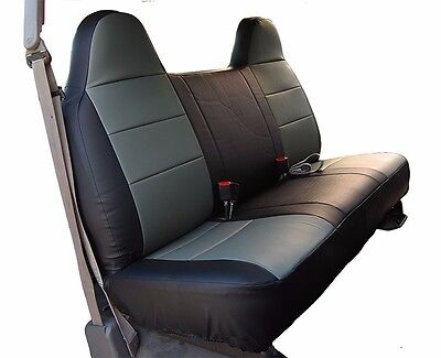 Fantastic Black Gray Mesh Fabric Bench Seat Cover Fits Ford F150 Bralicious Painted Fabric Chair Ideas Braliciousco