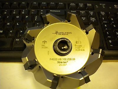 Walter Indexable Milling Cutter F4033.ub.102.z08.06 Edp 5051527